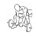 Seated Close-Grip Concentration Barbell Curl - Step 1