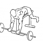 Lying High Bench Barbell Curl - Step 1
