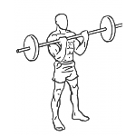 Close-Grip Standing Barbell Curl - Step 2