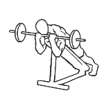 Lying Incline Curl - Step 2
