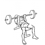 Reverse Triceps Bench Press - Step 1