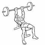 Reverse Triceps Bench Press - Step 2