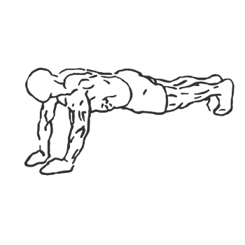 Pushups - Close Tricep Position - Step 2