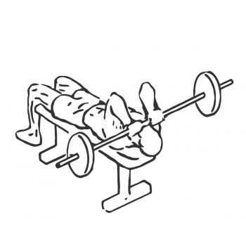 Lying Triceps Press - Step 1