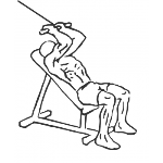 Cable Incline Triceps Extension - Step 1