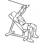 Cable Incline Triceps Extension - Step 2