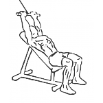 Cable Incline Pushdown - Step 1