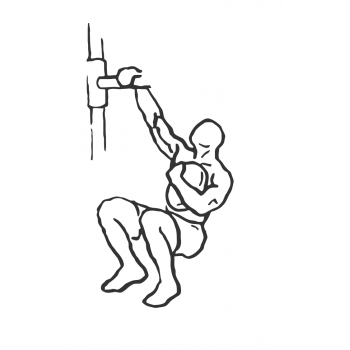 Weighted Sissy Squat - Step 1