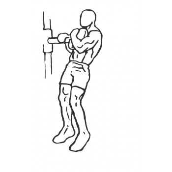 Weighted Sissy Squat - Step 2