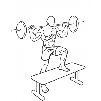 Barbell Step Ups - Step 2