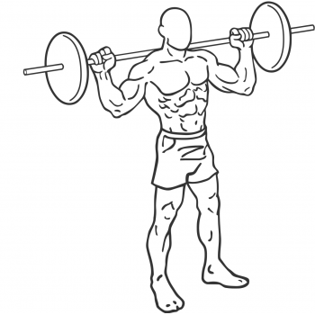 Barbell Rear Lunges - Step 2
