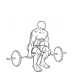 Barbell Hack Squat - Step 2