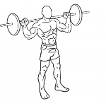Barbell Lunge - Step 2