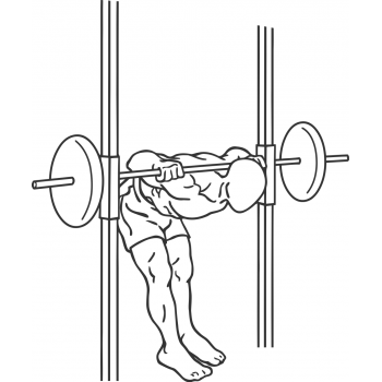 Smith Machine Good Mornings - Step 1