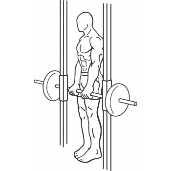 Smith Machine Dead Lifts - Step 1