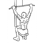 Wide-Grip Lat Pulldown - Step 1