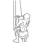 Underhand Cable Pulldowns - Step 1
