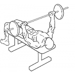 Wide-Grip Barbell Bench Press - Step 1