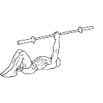 One Arm Floor Press - Step 1