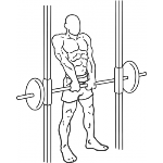 Smith Machine Shrug - Step 1