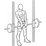 Smith Machine Shrug - Step 2