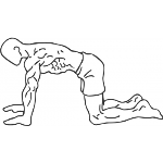 Abdominal 4 Point Drawing In - Step 1