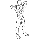Standing Dumbbell Upright Row - Step 1