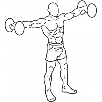 Side Lateral Raise - Step 1