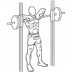 Smith Machine Upright Row - Step 1